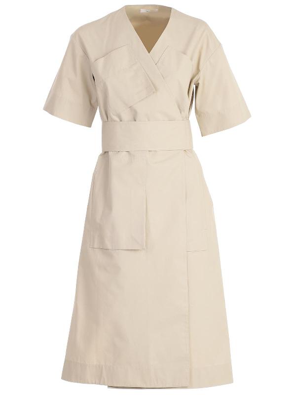 Celine Dress In 02kb Kaki Beige