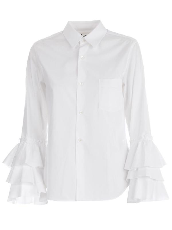 Comme Des GarÇons Comme Des GarÇons Shirt In White
