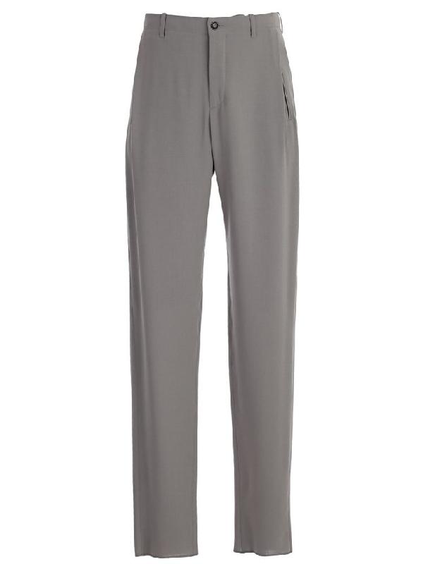 Giorgio Armani Trousers In Brown