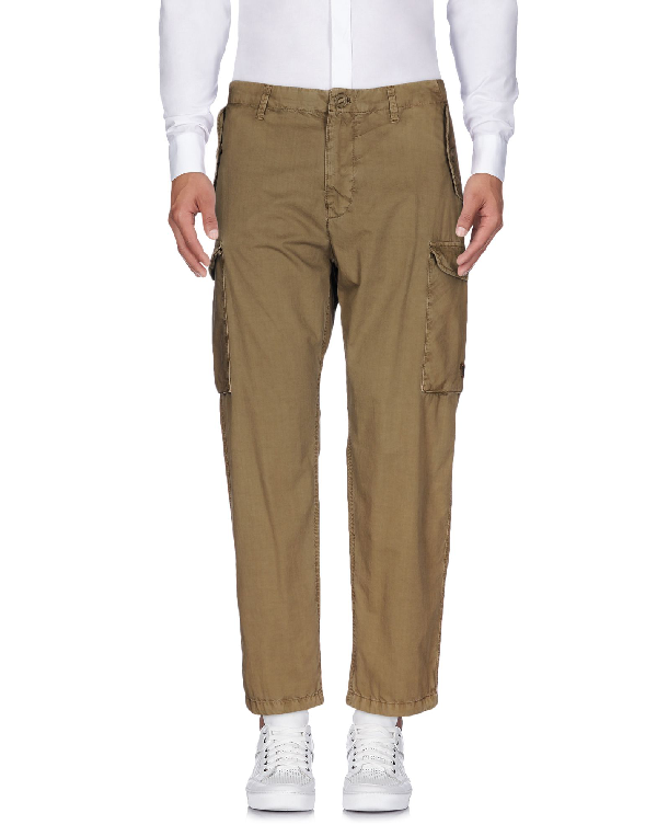 Armani Jeans Cargo In Khaki