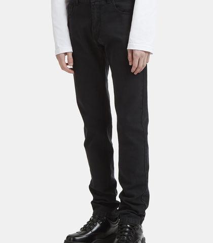 Raf Simons Cv Denim Pants In Black