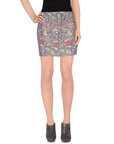 Just Cavalli Mini Skirt In Dark Blue