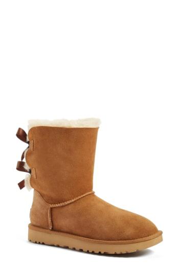 Ugg 'Bailey Bow Ii' Boot In Aqua