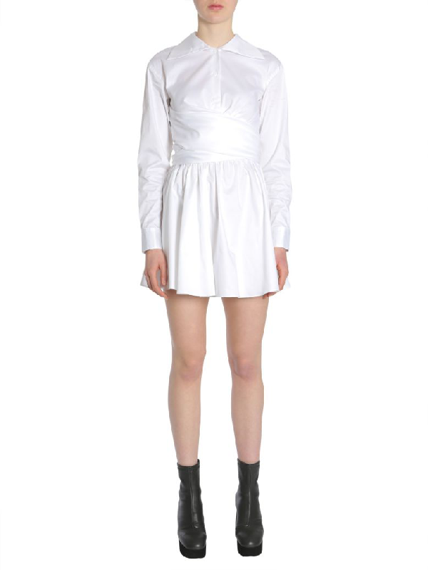 Opening Ceremony Cotton Dress In Bianco