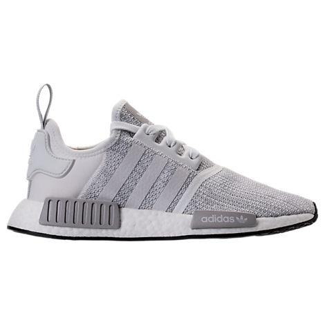 MEN'S NMD RUNNER R1 CASUAL SHOES, GREY - SIZE 11.5