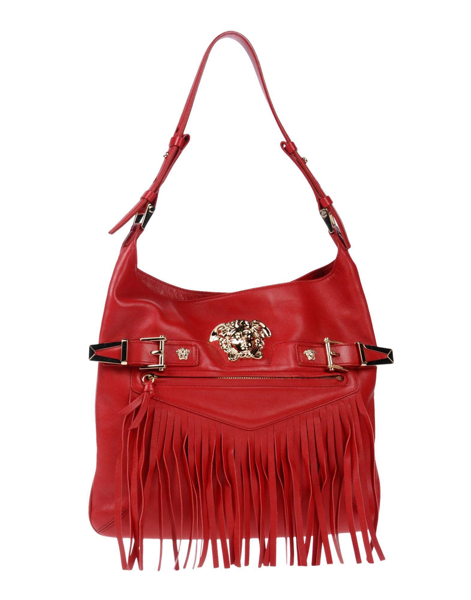 81a181acae Versace Handbag In Red