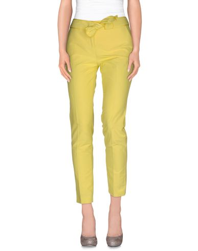 Red Valentino Casual Pants In Yellow