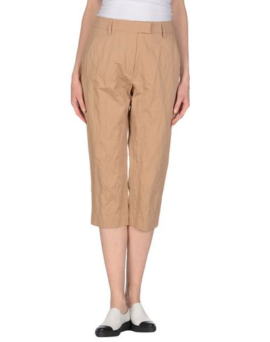 Dondup Cropped Pants & Culottes In Sand