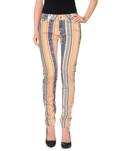 Just Cavalli Casual Pants In Orange
