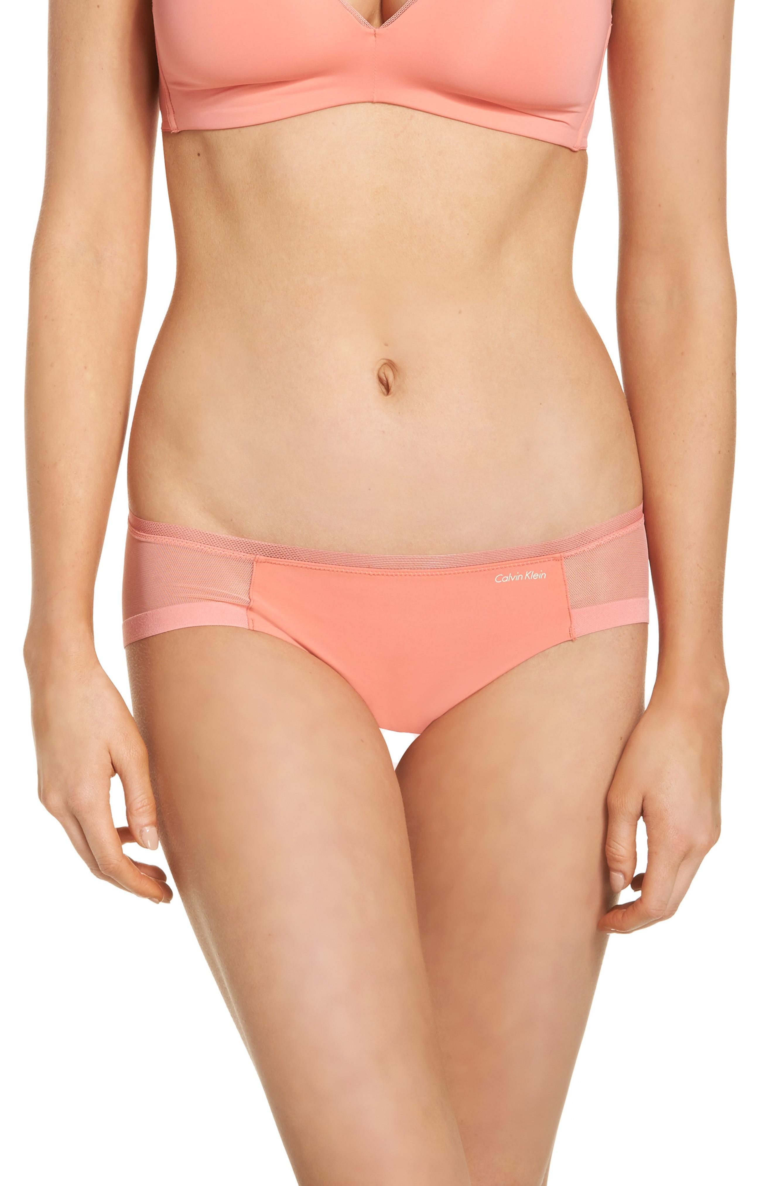 Calvin Klein Seamless Bikini In Bright Quartz