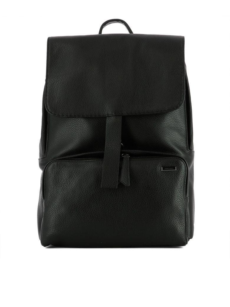 Zanellato Black Leather Ildo