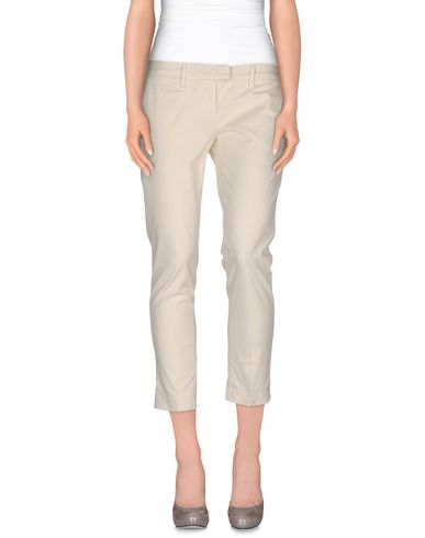 Dondup 3/4-length Shorts In Ivory