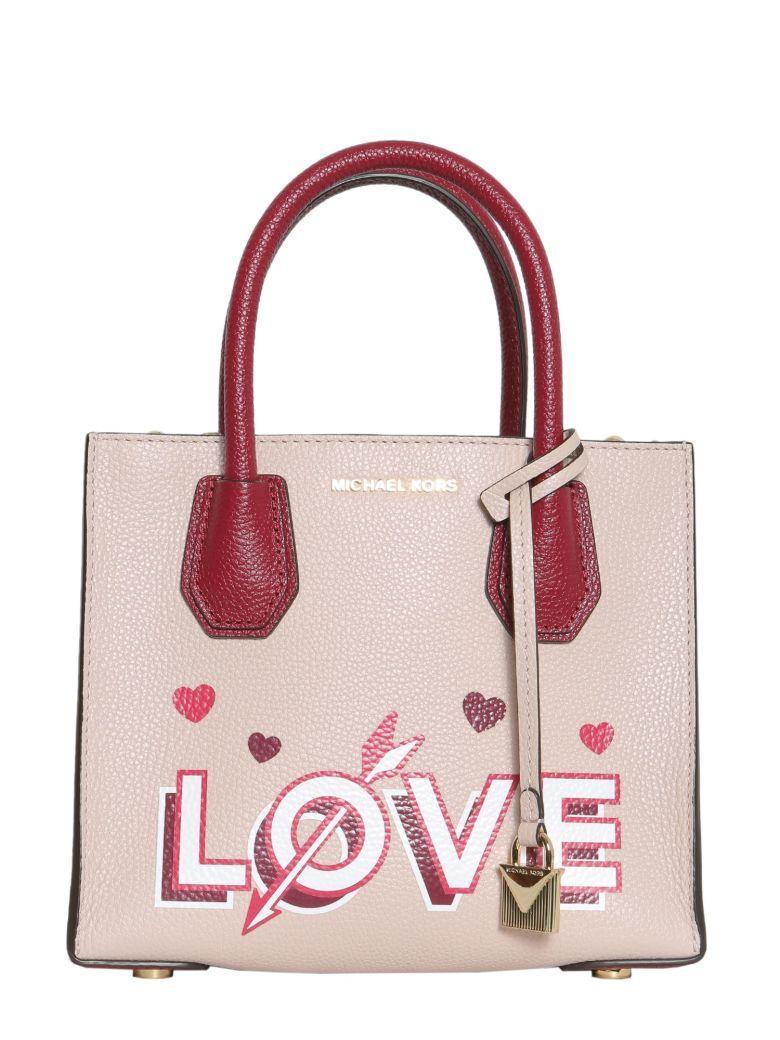 c8e5de490d8d Michael Michael Kors Mercer Love Medium Messenger Bag In Rosa | ModeSens