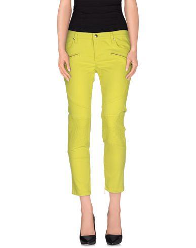 Just Cavalli Casual Pants In Acid Green