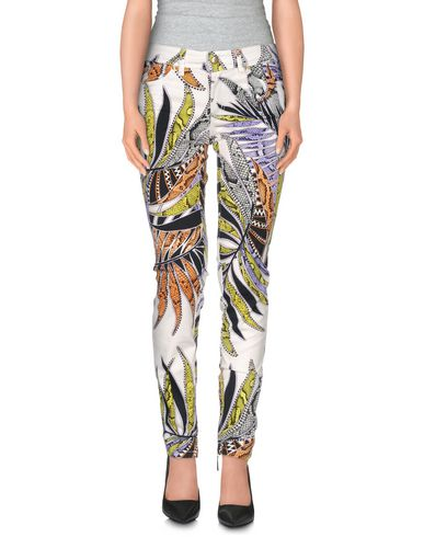 Just Cavalli Casual Trouser In White