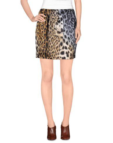 Just Cavalli Mini Skirt In Beige