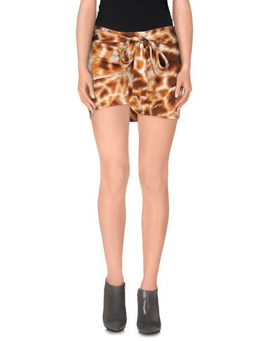 Just Cavalli Mini Skirt In Brown