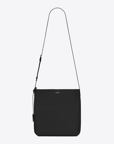 Saint Laurent Bold Crossbody Bag In Black Leather