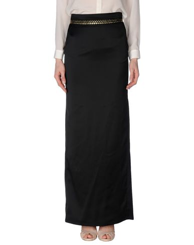 Just Cavalli Long Skirts In Black