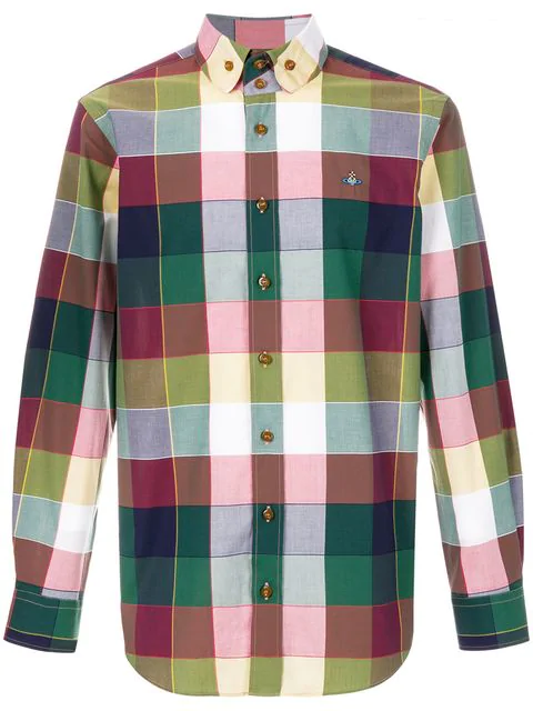 Vivienne Westwood Checked Shirt In Multicolour