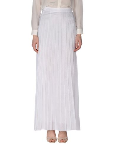 Dondup Maxi Skirts In White