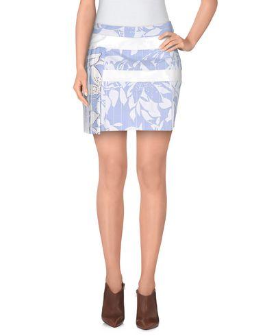 Just Cavalli Mini Skirt In Sky Blue