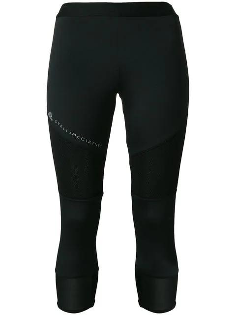 19cd2401ae39e Adidas By Stella Mccartney Stella Mccartney Performance Essentials 3/4  Leggings In Black