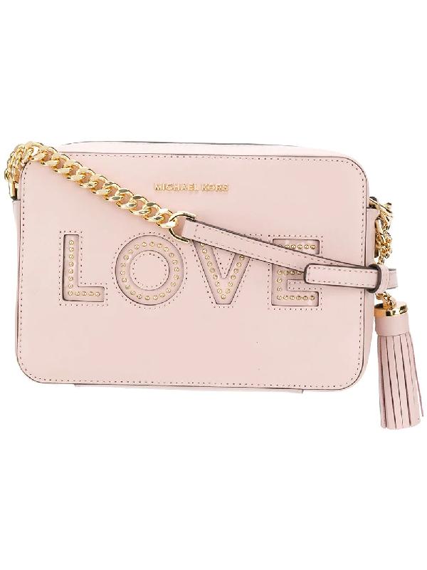 409f8afcd303c0 Michael Michael Kors Ginny Love Crossbody Bag   ModeSens