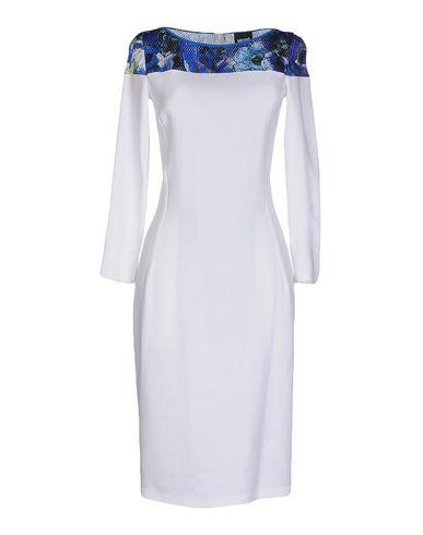 Just Cavalli Knee-length Dress In White