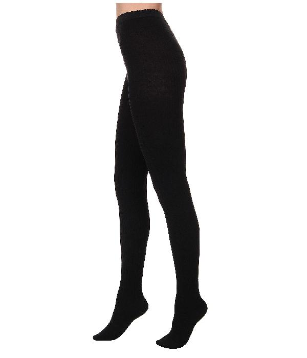 779f17850 Wolford Fine Merino Rib Tights In Black