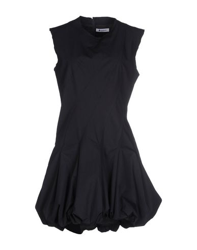 Dondup Short Dress In Dark Blue