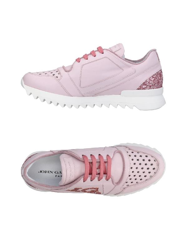 John Galliano Sneakers In Pink