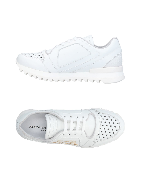 John Galliano Sneakers In White