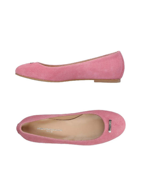 John Galliano Loafers In Pink