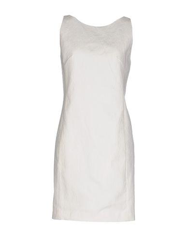 Dondup Short Dresses In White