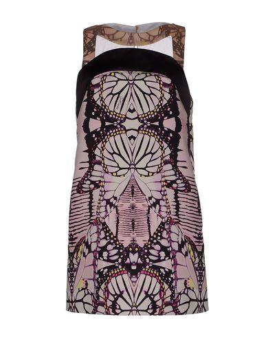 Just Cavalli Short Dress In Deep Purple