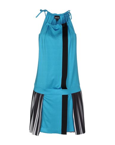 Just Cavalli Short Dress In Turquoise