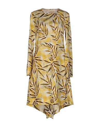 Marni Knee-length Dress In Yellow