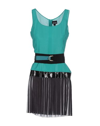 Just Cavalli Short Dress In Green