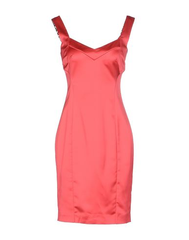 Just Cavalli Short Dress In Coral