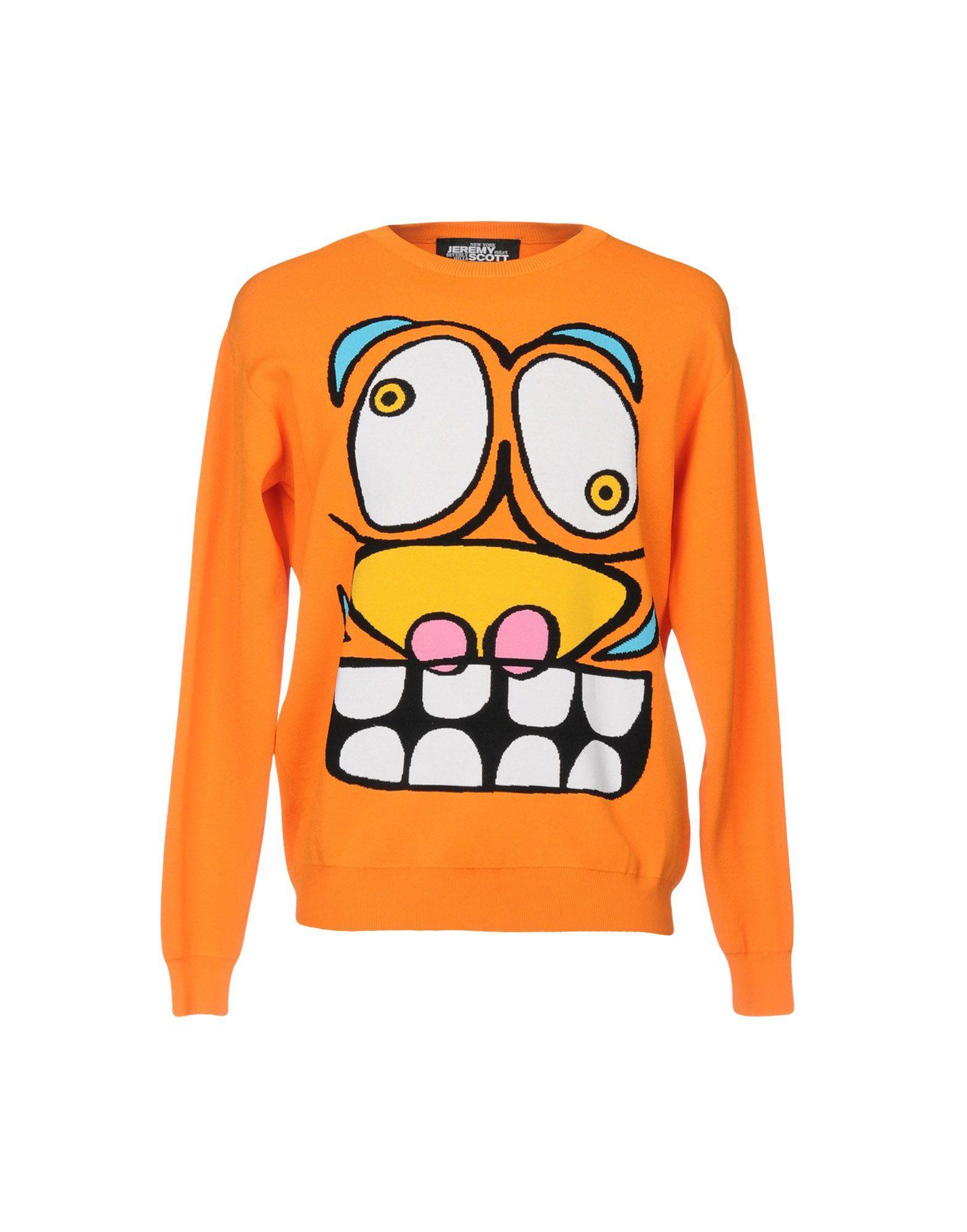 Jeremy Scott Sweater In Orange