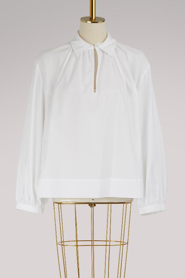 Stella Mccartney Yael Shirt In 9000 - Pure White