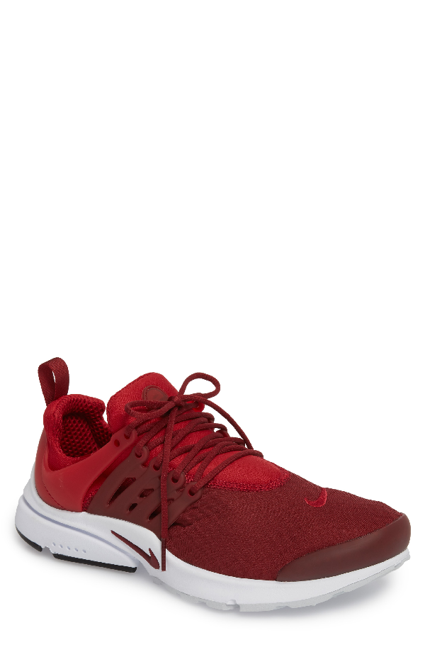 Nike Air Presto Essential Sneaker In Gym Red/ Team Red/ Black