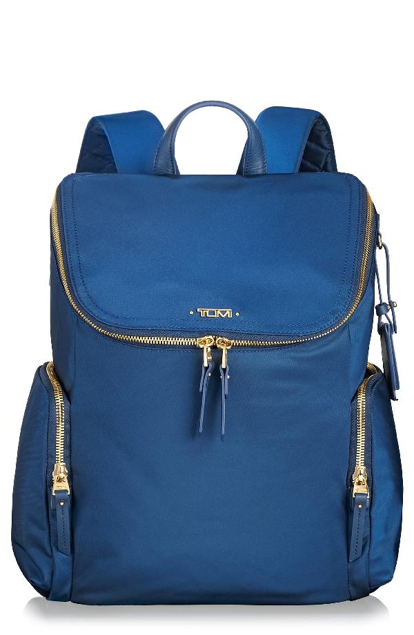 Tumi Voyageur Lexa Nylon Backpack - Blue In Ocean Blue