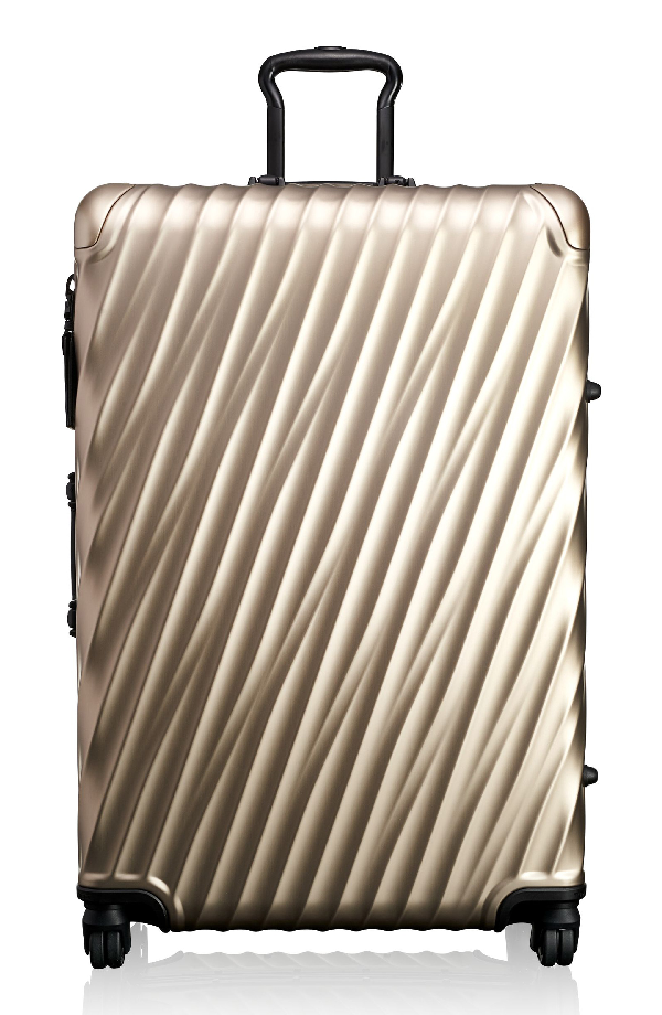 Tumi 19-degree 30-inch Aluminum Spinner Packing Case - White In Ivory Gold