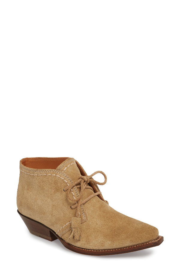 Ariat Javea Bootie In Taupe Suede