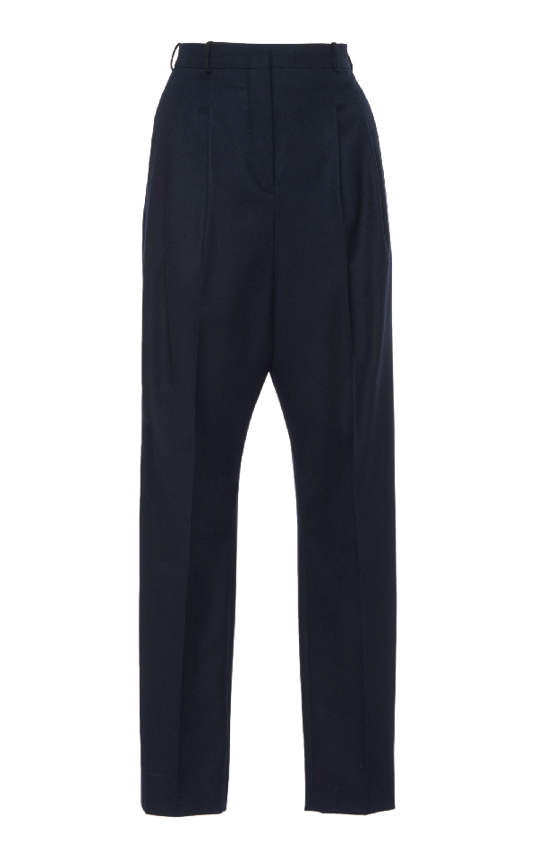 Lanvin Slim Trouser In Navy