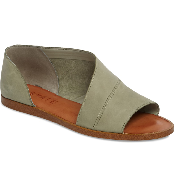 1.state Celvin Sandal In Nettle Leather