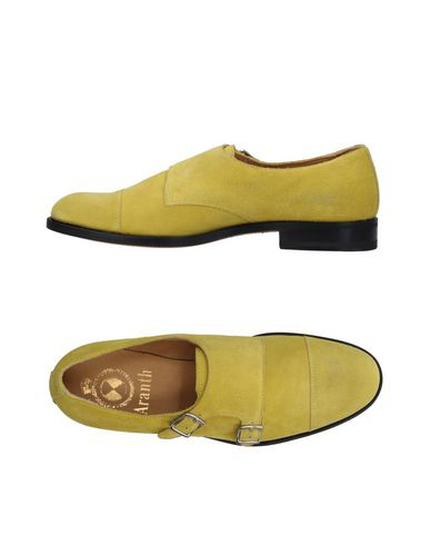 Aranth Loafers In Yellow