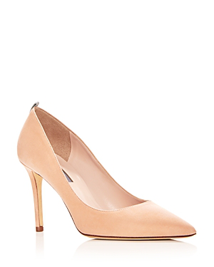 Sjp By Sarah Jessica Parker Women's Fawn Pointed-toe Pumps - 100% Exclusive In Signature Nude